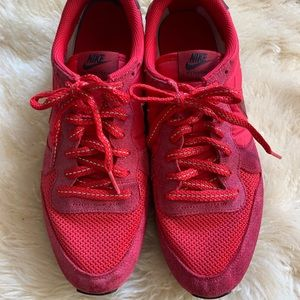 Vintage Red Nike Shoes